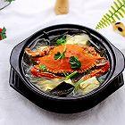 梭子蟹炖海带豆腐