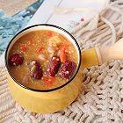 红枣枸杞花生养生粥