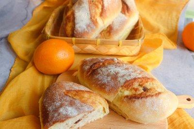 橙味乳酪面包