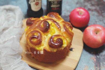 苹果酸奶面包