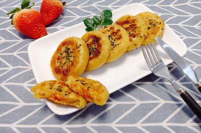 芝心山楂红薯饼