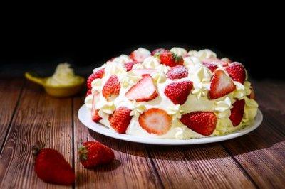 草莓甜心蛋糕