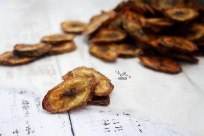 减肥人士必选零食烤香蕉片
