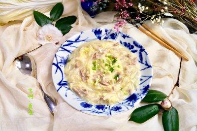 黄芽菜炒肉丝