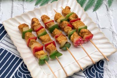 咖喱鸡肉串