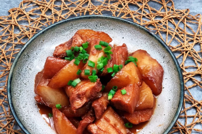 白萝卜红烧肉