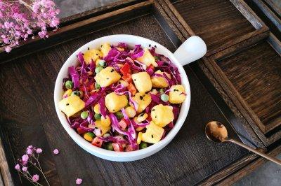 吐司蔬菜沙拉