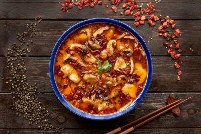 年夜菜川香水煮鱼