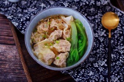 鲜虾猪肉馄饨