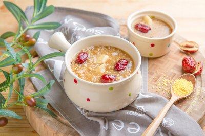 山药小米红糖粥