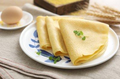 小米鸡蛋饼
