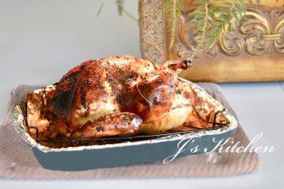 重磅挑战:圣诞节烤火鸡