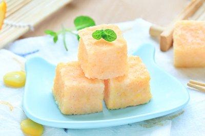鲜虾小米糕