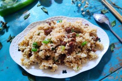 黑椒牛排蛋炒饭