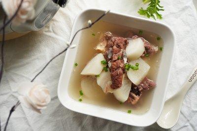 大寒萝卜羊肉汤