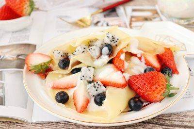 水果可丽饼宝宝甜品