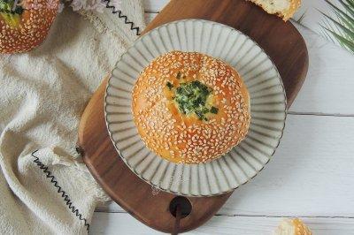 芝麻葱花面包