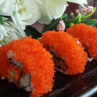 鱼子反转寿司