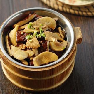杏鲍菇干子炒肉片