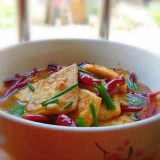 麻辣水煮豆腐