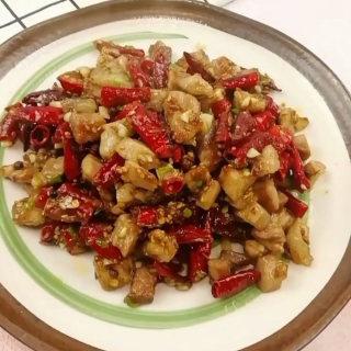 川椒香麻肉丁
