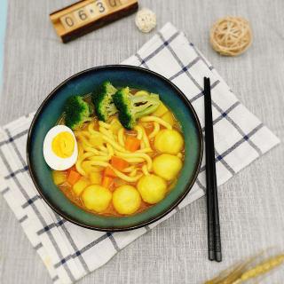 日式咖喱鱼丸