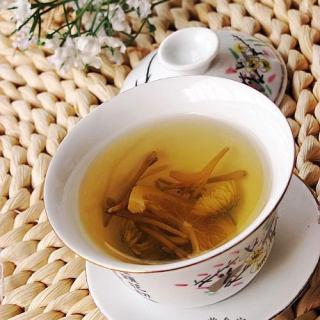 健康饮品金银双花茶