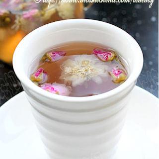双花柠檬红枣茶