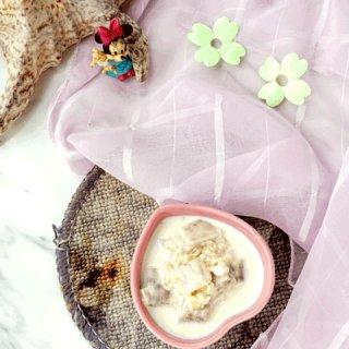 香芋燕麦牛奶甜汤