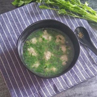 香芹肉丸汤