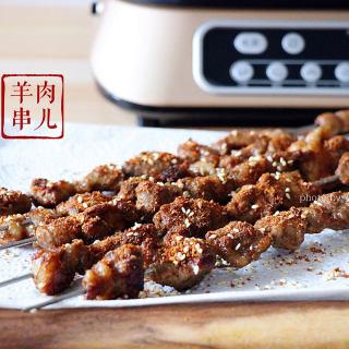 自制烤羊肉串
