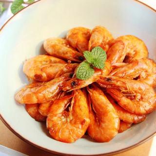 豆瓣酱炒虾