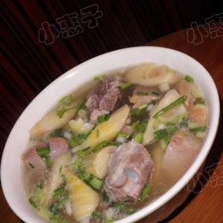 咸肉竹笋汤