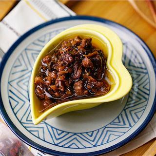 香菇豆角牛肉酱