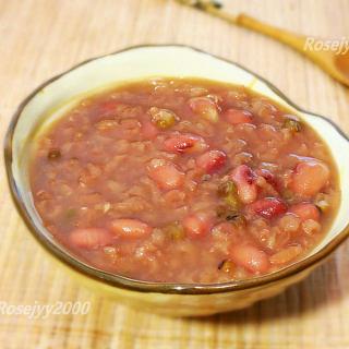 红豆绿豆粥