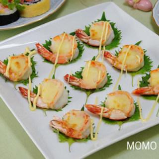 年夜菜 芝士土豆烤大虾