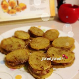 香烤土豆小肉饼