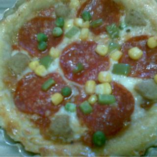 餐厅美味在家自制披萨