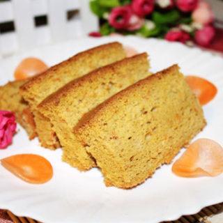 胡萝卜红糖戚风蛋糕