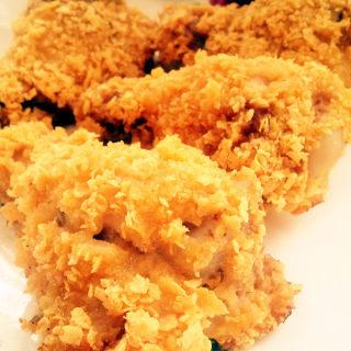 无油脆皮鸡腿/自制健康版KFC炸鸡