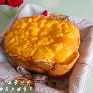酥皮大菠萝包面包机版