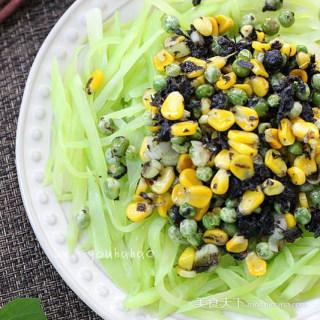 橄榄菜拌莴笋
