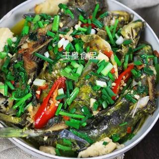 黄骨鱼焖豆腐