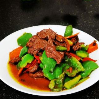 鸵鸟肉炒青椒