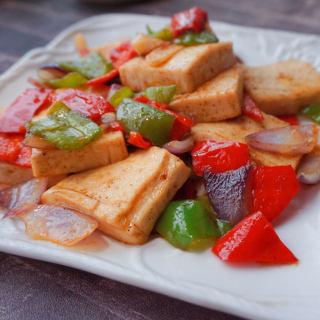 炒千页豆腐