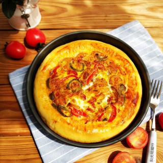 彩椒蛋焗披萨