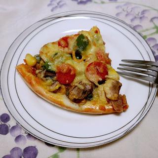 鸡肉田园披萨