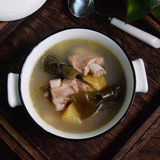 苹果海带排骨汤