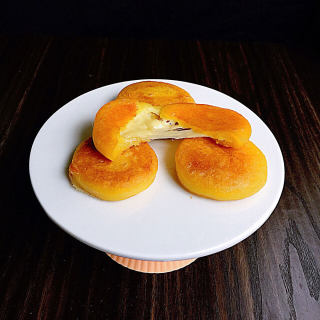 会拉丝的南瓜饼