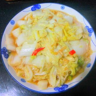 炝炒大白菜